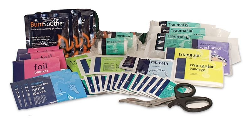 BS Compliant Vehicle First Aid Kit Refills