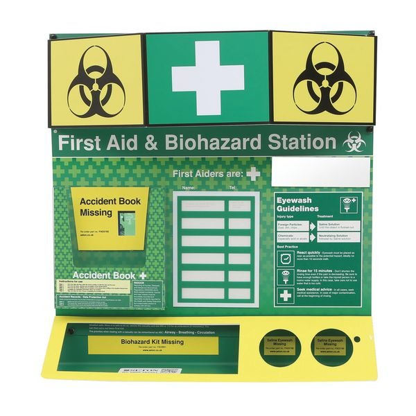 First Aid/Biohazard Stations - Unstocked