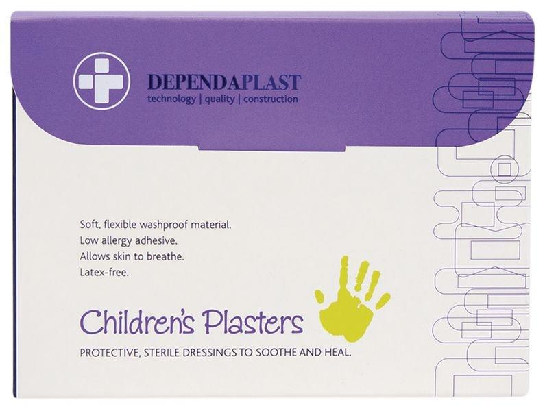 Dependaplast Childrens Washproof Plasters - Seton