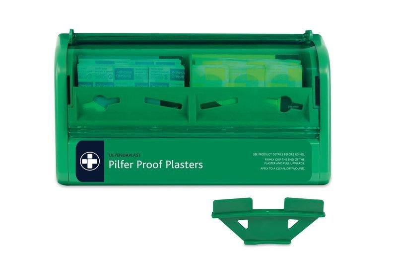 Pilfer Proof Plaster Dispenser - Plasters