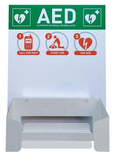 CardiAid Defibrillator Wall Mount And Information Board