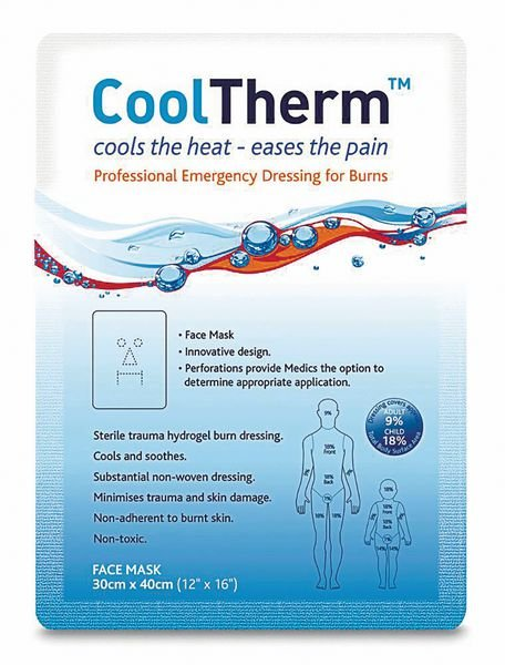 CoolTherm Dual Purpose Face Mask / Large Burn Dressing