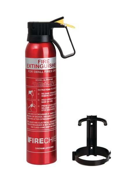 ABC Powder Fire Extinguisher - Barriers & Access Management
