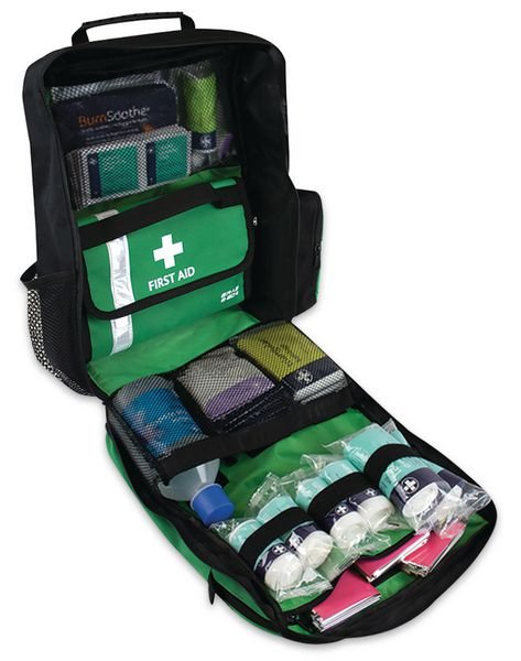 First Response Rucksack First Aid Kit - Mandatory Labels