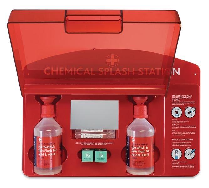 Redcap™ Chemical Splash Station - Seton