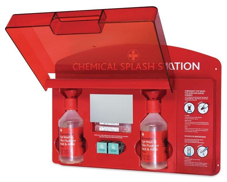 Redcap™ Chemical Splash Station - Eye Wash & Emergency Showers