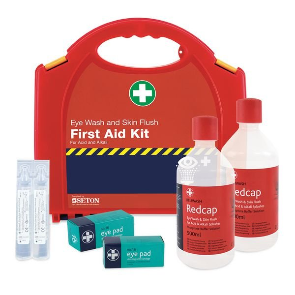 Redcap™ Chemical First Aid Kit