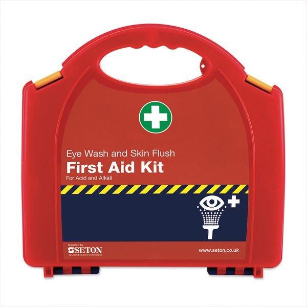 Redcap™ Chemical First Aid Kit - Seton