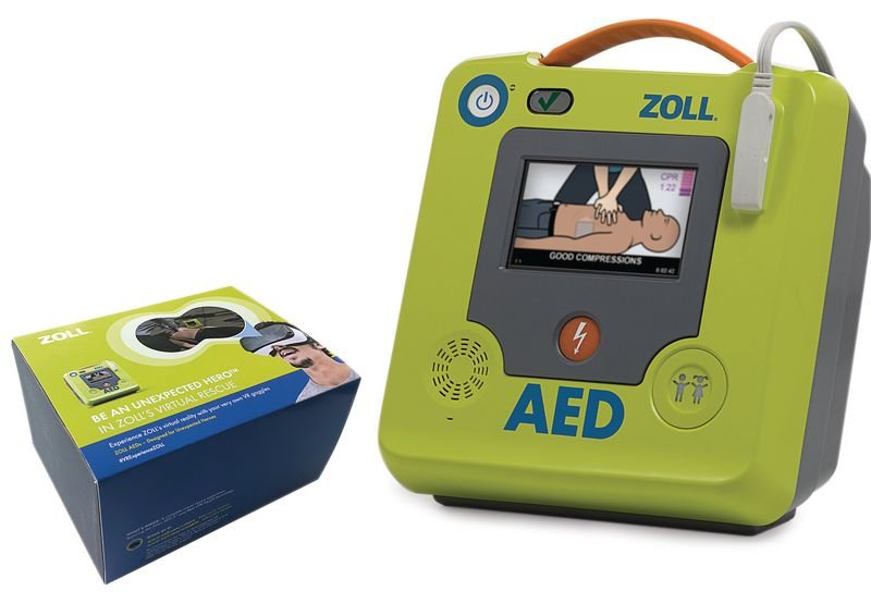 ZOLL AED 3™ & VR Goggles