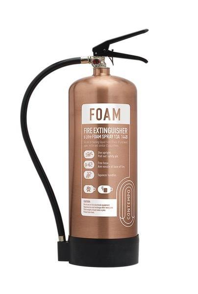 Metallic Foam Fire Extinguishers