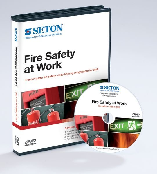 Fire Safety at Work Compilation DVDs