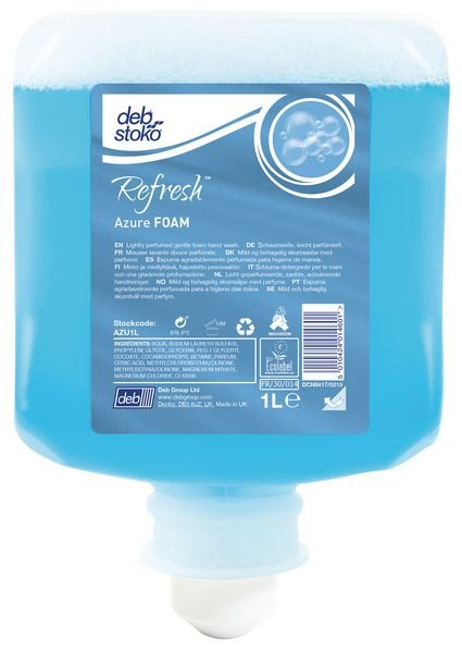 Deb Refresh™ Azure Foam Hand Wash Refill