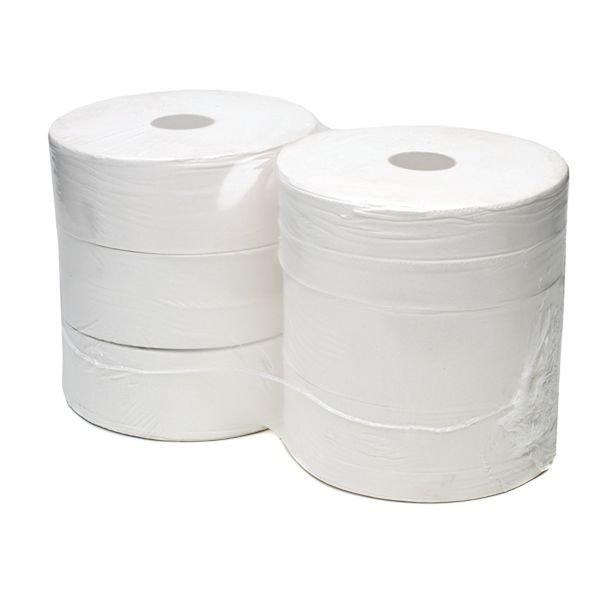 Recycled Jumbo Toilet Rolls