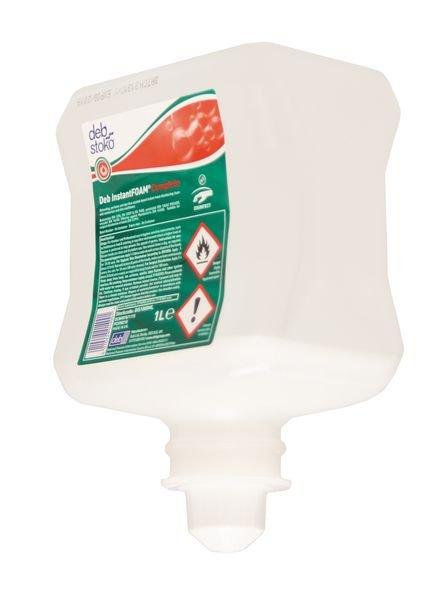 DEB InstantFOAM® Hand Sanitiser Kit with FREE Dispenser - Hand Cleaners, Soaps & Sanitisers