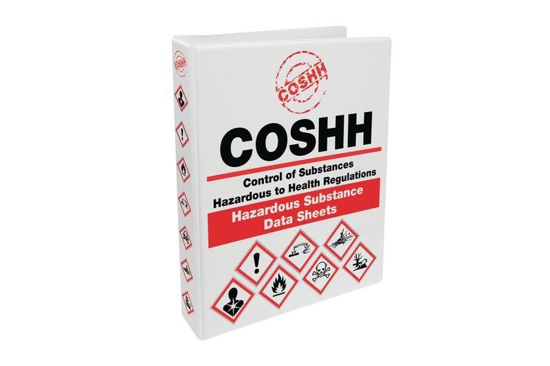 COSHH Ring Binder