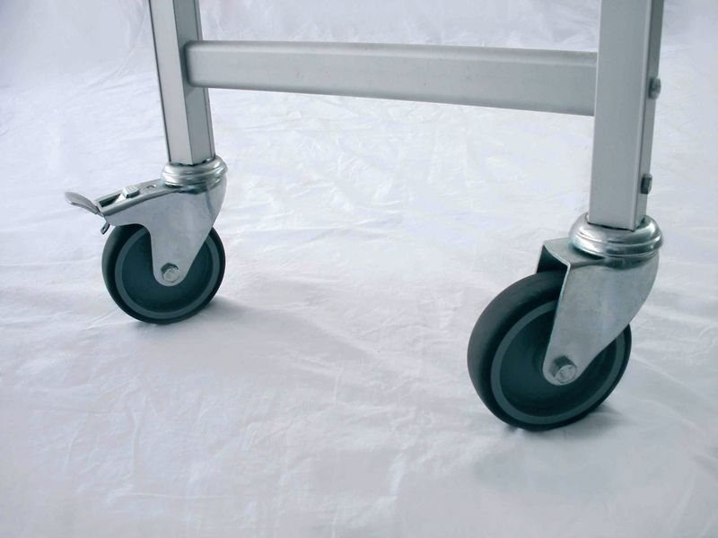 Aluminium Shelving - Castor Set