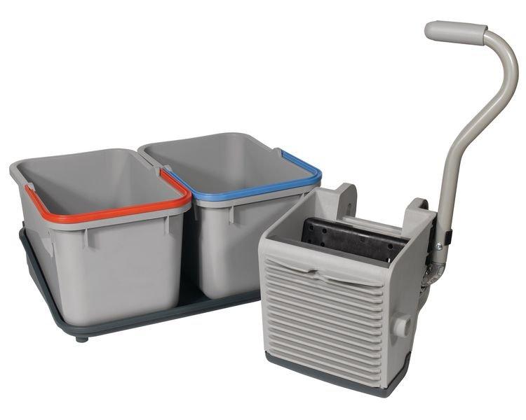 Mop Press & Twin Bucket Mopping Kit