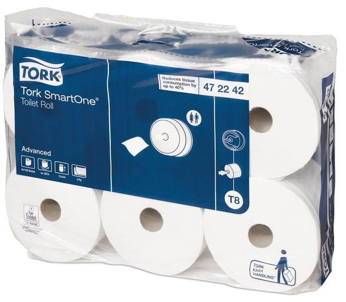 Tork® Smart One Toilet Tissue Rolls