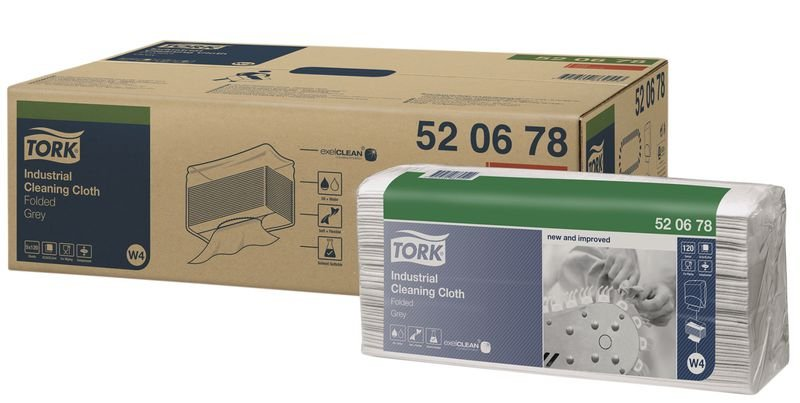 Tork® Folded Cleaning Cloths - Industrial