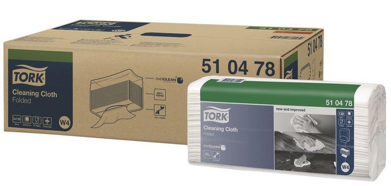Tork® Folded Cleaning Cloths - Standard
