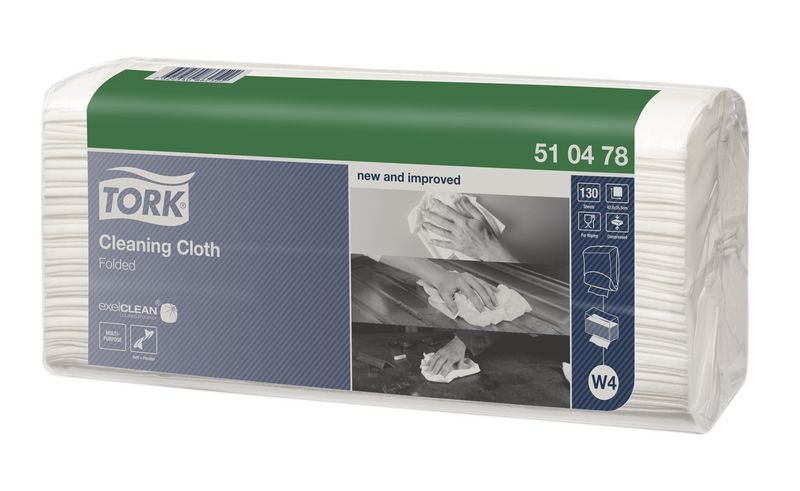 Tork® Folded Cleaning Cloths - Standard - Paper Towels Dispensers
