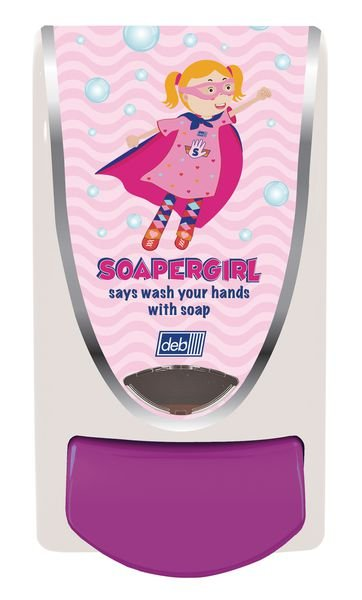 Deb Soapergirl Childrens Soap Dispenser