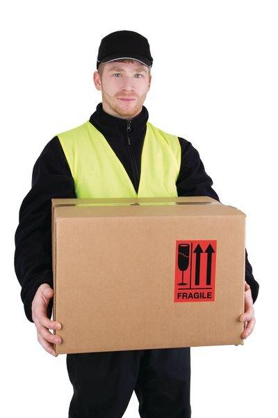 Fragile (↑↑) - International Shipping Labels - Seton