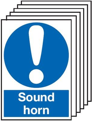 6-Pack Sound Horn Signs