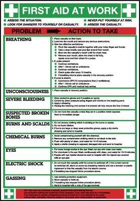 Wallchart - First Aid at Work