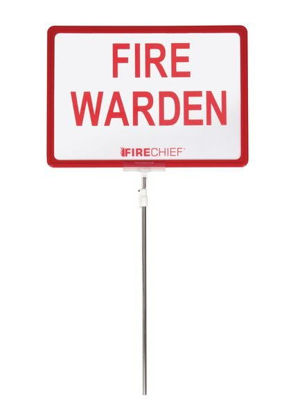 Fire Warden Sign - Seton