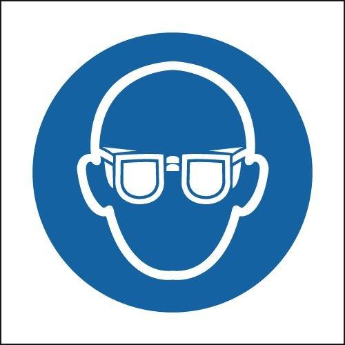 Eye Protection Symbol Sign
