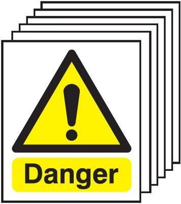 6-Pack Danger Signs