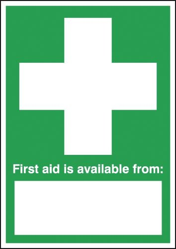 First Aid Is Available From   Signs