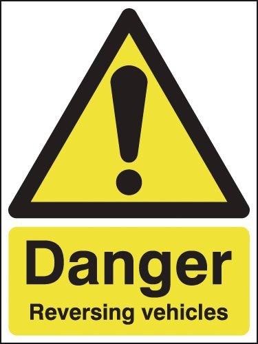 Danger Reversing Vehicles Signs