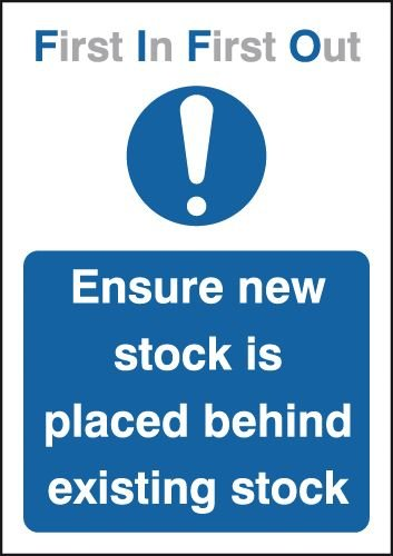 Ensure New Stock Is Placed Behind Existing Stock Signs