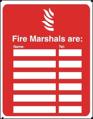 Fire Marshals Are Vandal-Resistant Sign - Seton