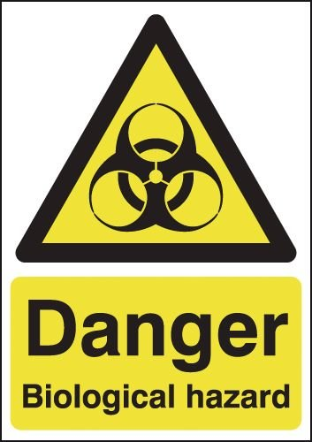 Danger Biological Hazard Signs