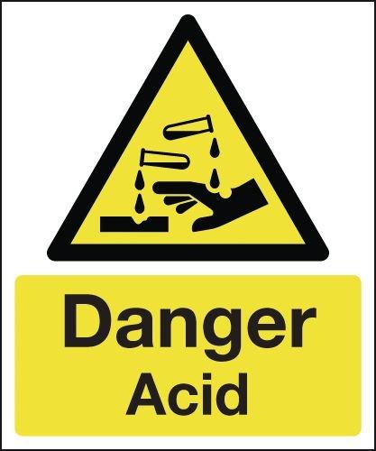 Danger Acid Signs