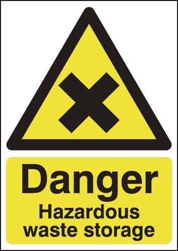 Danger Hazardous Waste Storage Signs