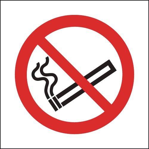 No Smoking Sign - Symbol Only