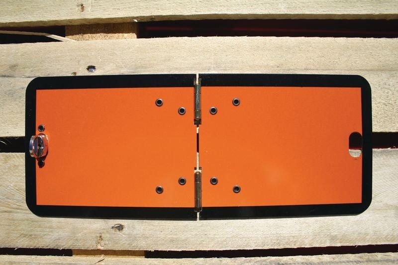 Hazchem Vehicle Plates - Folding
