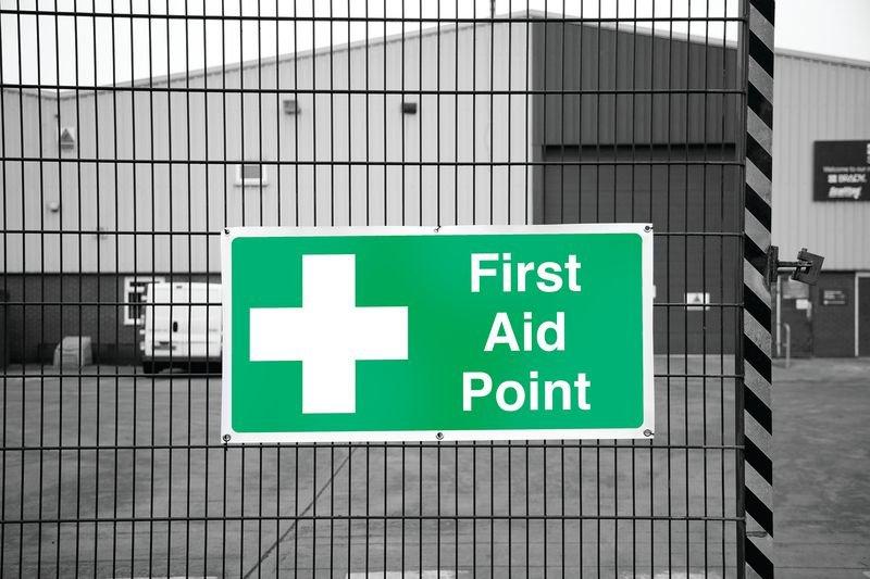 Banner Signs - First Aid Point - Seton