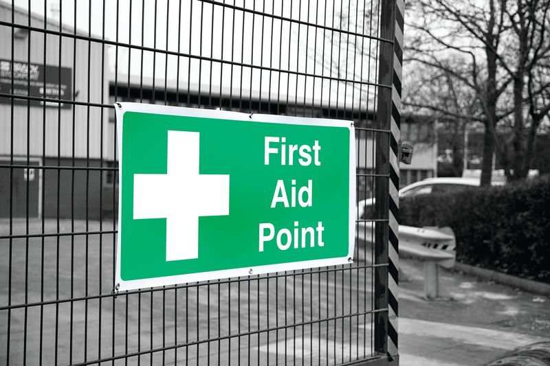 Banner Signs - First Aid Point - First Aid Location Signs
