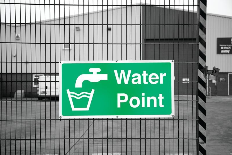 Banner Signs - Water Point - Seton
