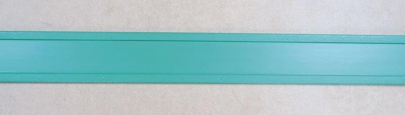 Rigid Green PVC Extrusion For Low Location Lighting Insert - Seton