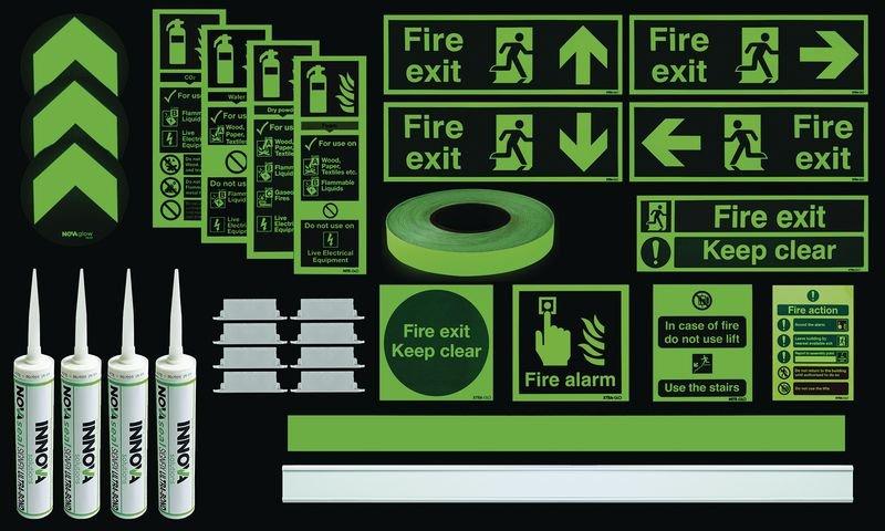 Photoluminescent Premium Corridor/Room Kit