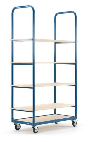 5 Tier Shelf Trolley