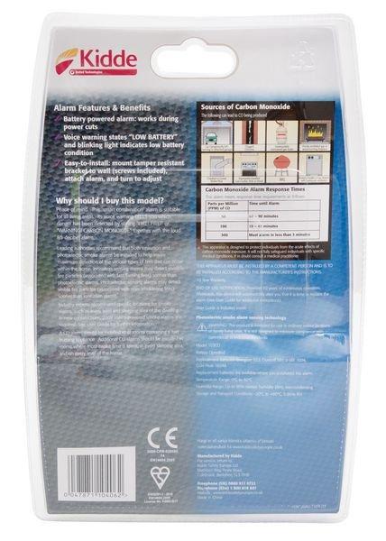 Carbon Monoxide & Smoke Detector - Seton