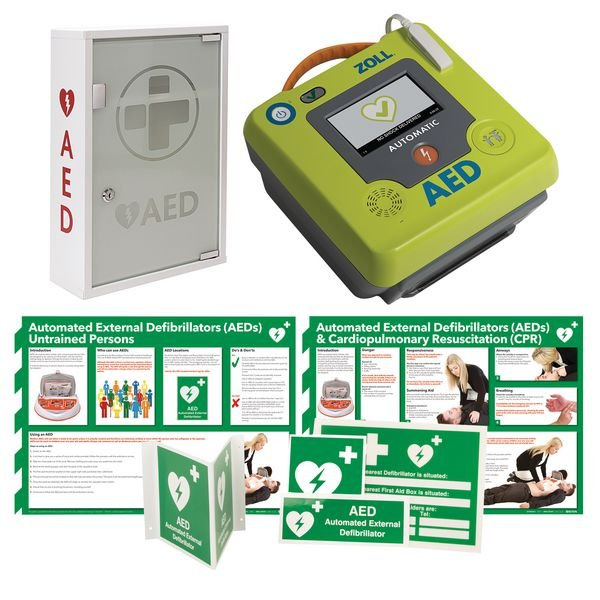 ZOLL AED 3™ Defibrillator & Signage AED Kits