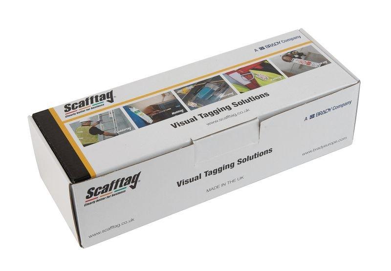 Scafftag® Asbestos Tags - Asbestos Identified - Scafftag